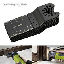 10 PCS 34mm Oscillating Multi tool Saw Blades Carbon Steel Cutter DIY Universal