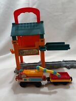 Thomas & Friends Sodor Steamworks Repair Shed Take N Play Track+Fuel Car Wagon