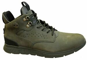 Timberland Killington Hiker Green Leather Lace Up Mens Chukka Boots A1ODQ