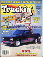 Truckin' Magazine December 1985 Project Formula S-10 Blazer EX 021916jhe