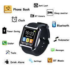 FREE SHIPMENT U80 Smart Watch Phone Mate Water Resistant For Android  US POST