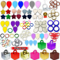 4-30 Heart and Star Shape Balloon Weight Helium Foil Latex Baloons Decoration UK