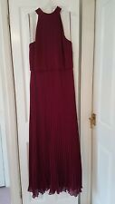 Oasis High Neck Braidsmaid Dress Size 12