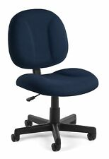Ofm Core Collection Comfort Series Armless Desk Office Chair Navy