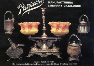 Antique Pairpoint Silver - Types Designs Models / 1894 Catalog Reprint Book