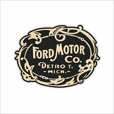 FORD MOTOR Cool Vinyl Hard Hat Sticker Decal Funny Danger Motorcycle Car Decor