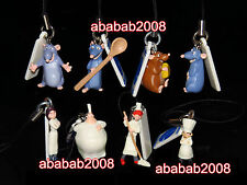 Yujin Disney Ratatouille strap figure gashapon (full set of 8 strap figures)