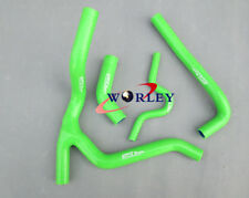 For KAWASAKI KXF250 KX250F Y KIT 2007 2008 07 08 Silicone radiator hose GREEN