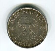 Münzen Deutsches Reich 5 Mark 1934 J