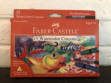 Faber-Castell Watercolor Crayons 15ct New