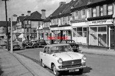 PHOTO  LONDON 1963 NORTHWARD ON STATION ROAD MILL HILL