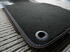 $$$ Original Lengenfelder Fußmatten passend für BMW Z3 Z 3 + Naht rot/blau + NEU