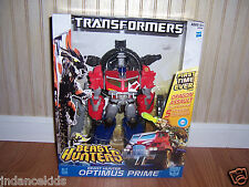 TRANSFORMERS Prime Beast Hunters OPTIMUS PRIME With Dragon Assault  New In Box