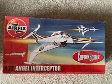 More details for captain scarlet airfix angel interceptor boxed rare