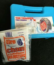 NEW USA Snow Tire Chains with FREE Adjusters P235/45-19 P245/40-19 car