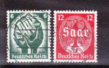 Germany Deutsches Reich 1934 Mi. Nr. 544-545 Saar Plebiscite USED