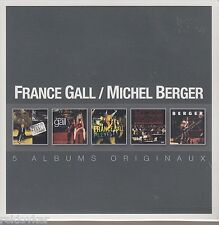 France Gall - Michel Berger / Pleyel, Simple Je, En Public… u.a. (5 CDs,NEU,OVP)