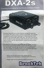 BeachTek DXA-2S Compact Dual XLR Adapter.
