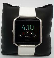 Fitbit (FB502SBKS) Blaze Fitness Tracker Watch, White, Unisex
