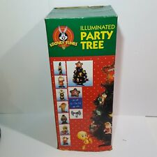 "20"" Looney Tunes Christmas Illuminated Party Tree Ornaments Star Bugs Bunny"