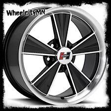 17x10.5 17x9 gloss black Hurst Dazzler HT324 wheels Ford Mustang 1994 2004 5x4.5