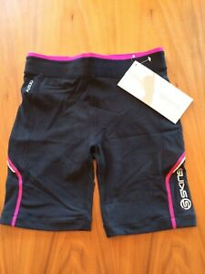 SKINS A200 womens short tights size S