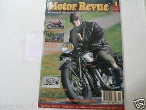 MOTOR REVUE 2005-01 POSTER HONDA CX500 TURBO,HONDA CB360,TERROT 350HR,VELOCETTE,