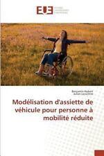 Modelisation d'Assiette de Vehicule Pour Personne a Mobilite Reduite by...