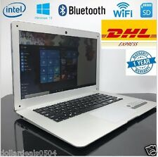 14 inch ultra book Super Slim Laptop 4 GB RAM 64 GB SSD Intel Atom Windows 10