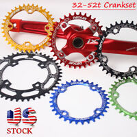 32-52T 104bcd Narrow Wide Crankset Mountain MTB Road BMX Bike Crankset Chainring