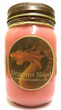 Dragons Blood 16oz Country Jar Soy Candle - Handmade Scented Wholesale Candles