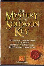 The History Channel - Mystery of the Solomon Key (DVD)  Freemasons, Secret ...