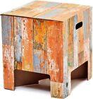 Dutch Design Chair /Stool/ Side Table dutchdesignbrand.com/ Scrap Wood ModelNEW