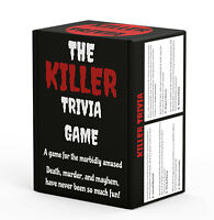 Killer Trivia Game - The Best Murder Mystery Party Game