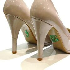 I Do Emerald Green Crystal Diamonte Wedding Shoe Decoration Sticker