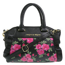 Christian Siriano Floral Mini satchel Classic Chic Leather