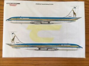 Two Six 1/144 Air Tanzania Boeing 707 decals  707-331B for Minicraft  STS4438