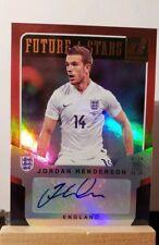 2015 Donruss Future Stars Signatures #7 Jordan Henderson