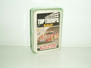 "Vintage Waddingtons Top Trumps International Series ""Rally"" 1983-85."