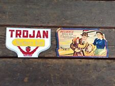 2 Vintage Paper Needle Book Sets - Trojan Bred & Reliance