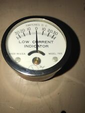 "hoyt 763 dc amp meter non contact 30 amps vintage made in USA "" HOT ROD RED """