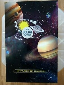2015 Australia Our Solar System Minisheet Collection--only 250 Issued--very Rare