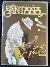 Santana: Greatest Hits - Live at Montreux 2011 (DVD, 2012, 2-Disc Set)