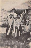 Cartolina - Postcard - Vietman - Tonkin - Haipong - femme revenant du marche