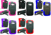 T -Stand Hybrid Cover Phone Case for Samsung Galaxy Ring / Prevail 2 SPH-M840
