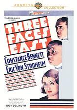 Three Faces East DVD (1930) - Constance Bennett, Erich von Stroheim Roy Del Ruth