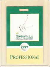 1999 National Car Rental Golf Classic @ Walt Disney TIGER WOODS TICKET PGA WIN