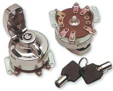 Drag Specialties 0909-0202 Round Key Internal Contact Switch Includes 2 Keys