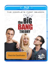 The Big Bang Theory The Complete First Season 2-Disc Set Region B Blu-ray VGC