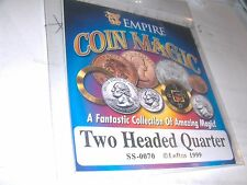 Joke Prank Novelty Two Headed Quarter  Magic Trick Fun